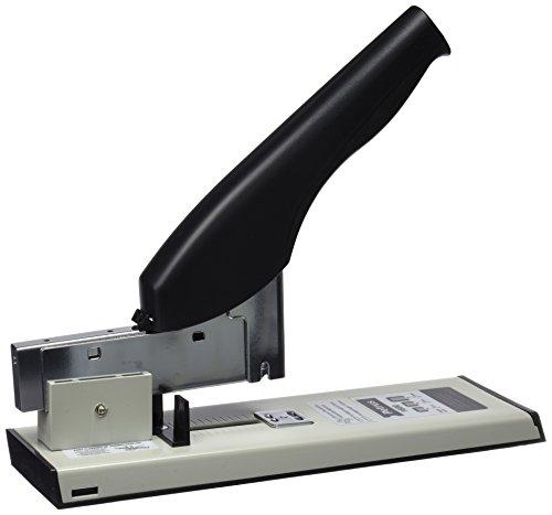 Petrus 44737 - Grapadora de Gruesos y Especiales Modelo 1600, Color Gris/Negro, 100 hojas