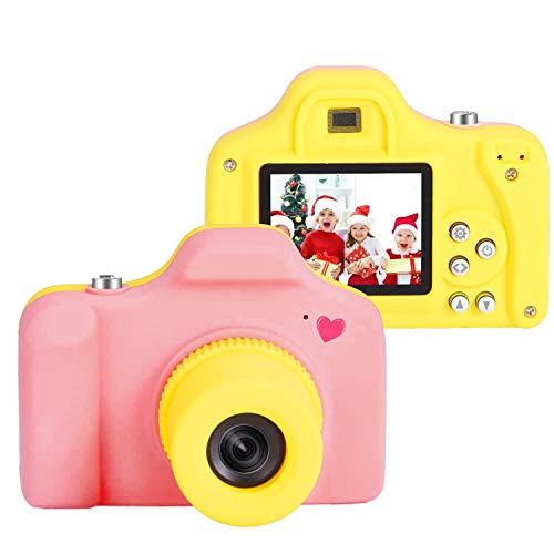 Macchina Fotografica Bambini con 16GB scheda sd Compatte Fotocamera Bambini Digitale Giocattolo Mini kids camera con LCD 1.5 pollici/5MP/HD1080p Fotocamere REGALO natale compleanno bambini5 4 3 anni