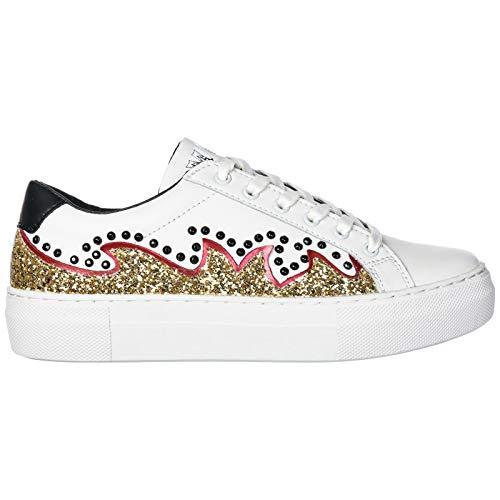MOA Master of Arts Damen Victoria Circus Sneaker Bianco 37 EU