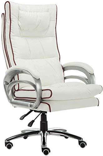 Fåtölj Möbler Designad Spelstol Massage Ländryggsstöd Konstläder Klädsel Vridbar kontorsstol Dator De (spelstol)