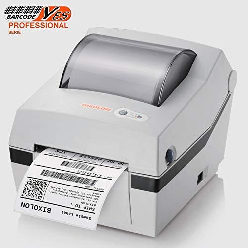 Professioneller USB-Etikettendrucker 110 mm für Barcode und Barcode 1D und 2D qr code