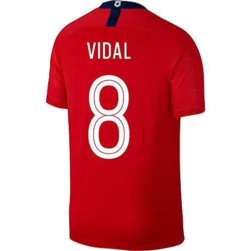 Chile Home Trikot 2018 2019 + Vidal 8 (Fan Style) - M