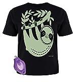 Splat Planet - La Magie paresseuse, l'éclat créatif Dans le T-Shirt Sombre Avec Lampe UV incandescente, pour Les Enfants 12-13 años