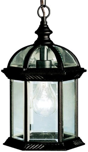 Kichler 9835BK, Barrie Cast Aluminum Outdoor Ceiling Lighting, 100 Total Watts, Black (Painted)