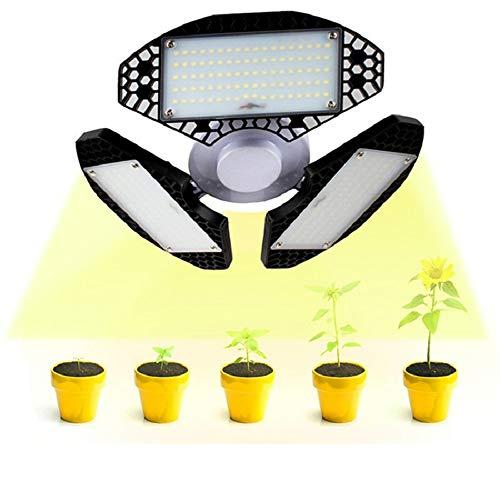 MZSG E27 LED wachsen Licht, 50W Full Spectrum Plant Growth Lampe, Einstellbarer Faltbare, AC85-265V, für Garten Indoor Gewächshaus-Zelt Pflanz Veg