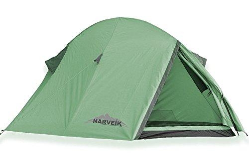 Tellta 2 Personen Zelt Iglu Campingzelt Zelt 1,9 Kg 3000mm Wassersäule