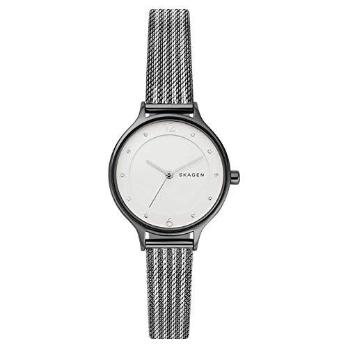 Skagen Damen Analog Quarz Uhr mit Edelstahl Armband SKW2750