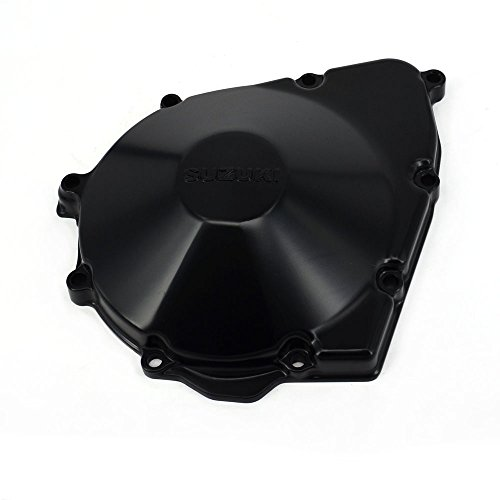 JFG RACING Boîtier de manivelle en aluminium CNC pour moteur Suzuki GSX400 Inazuma GK7BA, GSF600 Bandit 600 96-03, GSX600F GSX750F Katana 98-06