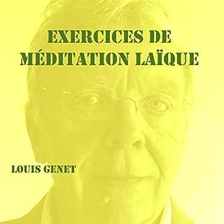 Couverture de Exercices de méditation laïque