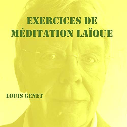 Page de couverture de Exercices de méditation laïque