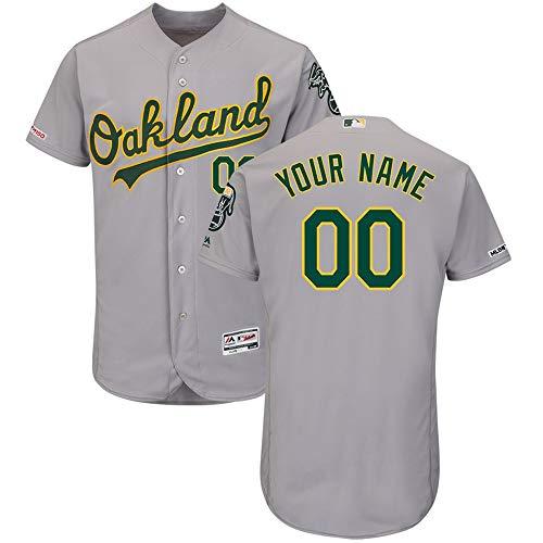 HeiWu Personalisierte Baseball-Trikots T-Shirt Button Down mit gestickten Team Uniform Sweatshirt Farbe Spieler Name und Nummern
