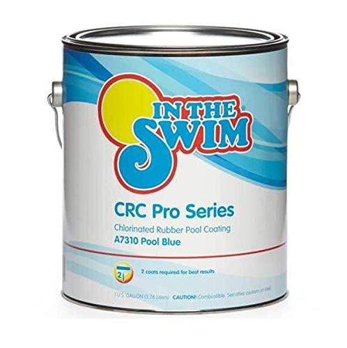 In The Swim CRC Pro-Series Chlorinated Rubber-Base Pool Paint - Pool Blue 1 Gallon
