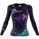 SMMASH Neverland Sportiva Magliette Donna Manica Lunga, Yoga, Crossfit, Camicia Funzionale Top da Palestra, Gym Home, Materiale Antibatterico, Prodotto nell'Unione Europea (XS)