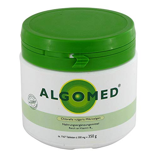 Algomed - Chlorella vulgaris microalgas - 350 g / aprox. 1167 tabletas de Chlorella