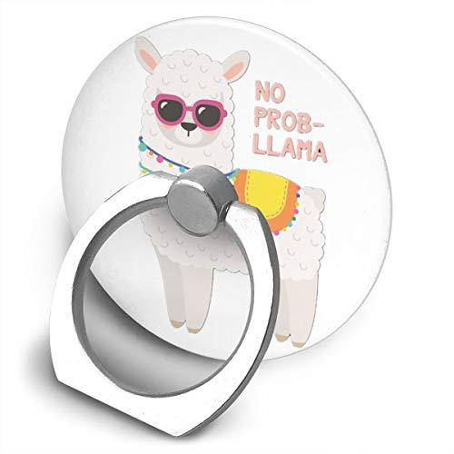 Fighwy No Prob Llama Support Universel pour téléphone Portable avec Support Rotatif à 360° pour iPhone, iPad, Samsung, HTC, Google Pixel, Nokia, LG