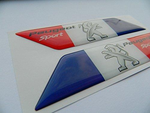 X2 Juego de deporte Francia Bandera Badge Emblem