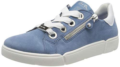 ara Damen ROM Sneaker, Blau (Sky, Weiss 11), 43 EU(9 UK)