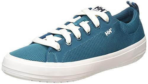 Helly Hansen Pier & Lifestyle, Zapatillas Hombre, Azul (Deep Lagoon/Off White), 40 EU