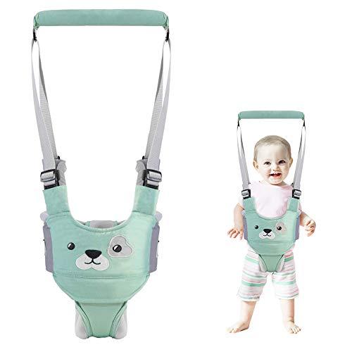 Toddler Walking Assistant, Liesun Correa Bebe Para Caminar, Se pone de pie caminar ayudante de aprendizaje for el bebé, caminar bebé Asistente arnés, caminante del bebé(Azul)