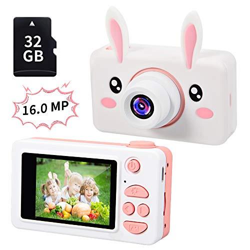 TekHome 2019 Nueva Cámara de Fotos para Niños con 32GB Tarjeta SD...