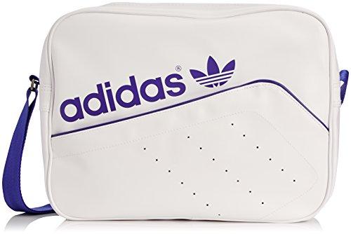 adidas Airliner Perf Uomo Shoulder Bag Bianco