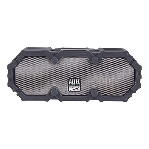 Altec Lansing IMW478s Mini LifeJacket-3 Bluetooth Speaker Waterproof, Aqua/Black (Renewed)