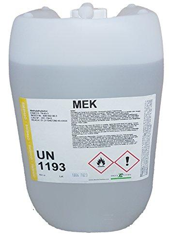 DruckChemie Methylethylketon - Butanon - MEK - Lösemittel, Entfetter (min. 99,5%) (10 Liter)