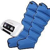 PINGJIA Masajeador de piernas de compresión de Aire Cintura Brazo Envolturas de piernas Tobillos de pies Máquina de Masaje de pantorrillas Botas de presoterapia Circulación Mejorar el Dolor Relajarse