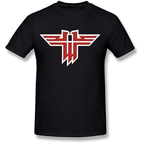 Men's Wolfenstein Logo T-Shirt Black Tee