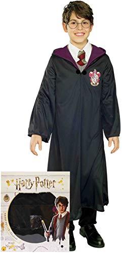 Rubies Disfraz de Harry Potter Box (talla S) para niño (700538-S) 3-4 años, color negro