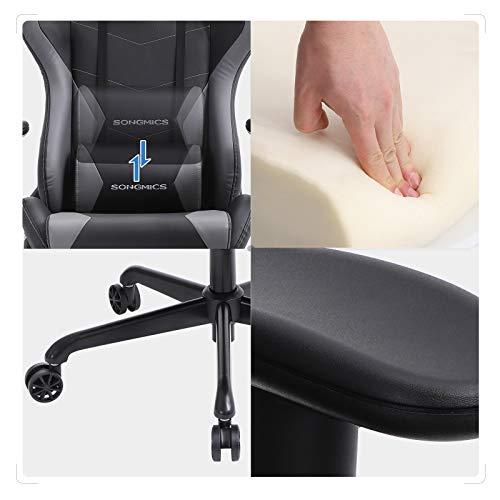 SONGMICS Gaming Stuhl 150 kg Bürostuhl Bild 2*