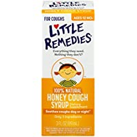 Little Remedies 100% Natural Honey Cough Syrup, 3 Oz (Ages 12 Months)