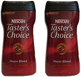 Nescafe Taster's Choice House Blend Instant Coffee, 12 Ounce, Pack of 2 (total 24 oz)