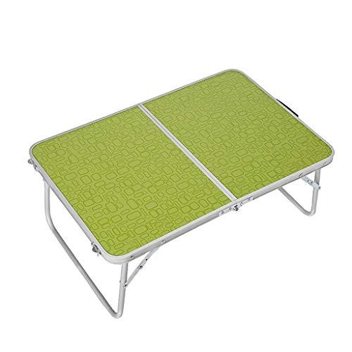 AWCPP Mesa de Café Creativa Portátil Multifunción Plegable Mesa Plegable Mesa de Muebles Al Aire Libre Mesa Pequeña Mesa de Café Verde Mesas