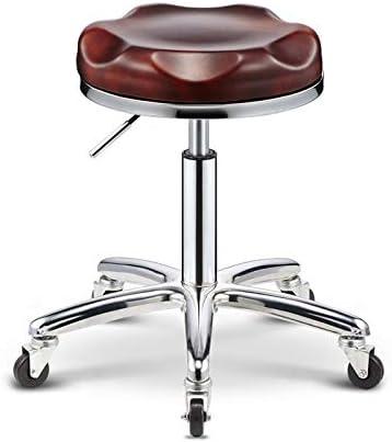 Cailong Beauté Tabouret Barber Shop Chaise Tabouret rotatif Ascenseur Salon travail Tabouret Poulie manucure Tabouret Salon de beauté (Color : Style 16) C