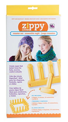 Authentic Knitting Board KB Zippy Master Set, 7