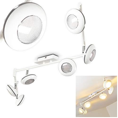 Barra con faretti LED'Jerewan' bianca, 6 x 5 Watt - 1920 Lumen - 3000 Kelvin [Classe energetica A+]