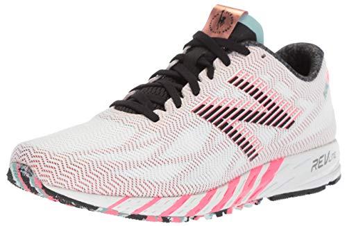 New Balance Women's 1400v6 Running Shoe, White/Copper, 5.5 B US