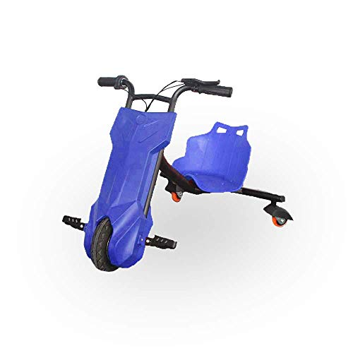 BEEPER Drift-Trike Kart Electric Child Azul 100W 12V 6, 5Ah RDT100-B, Color
