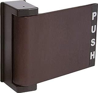 Push-Pull Paddle Door Handle,Right Hand in Bronze Finish, Durable Commercial & Residential, Door Hardware, Door Handles, Locks