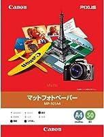 ( お徳用 4セット ) キャノン Canon マットフォトペーパー MP-101A4 A4 50枚