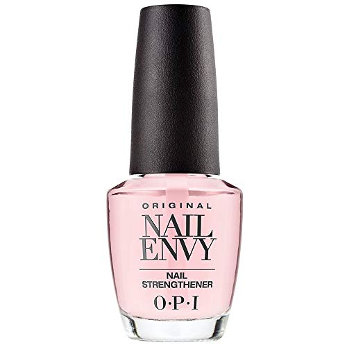 OPI Nail Strengthener, Original Nail Envy Nail Strengthener Treatment, Pink to Envy, 0.5 Fl Oz