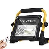 DLILI Foco construcción LED 150W, Foco construcción con Control Remoto, Foco Obra, luz Trabajo Taller, batería incorpora...