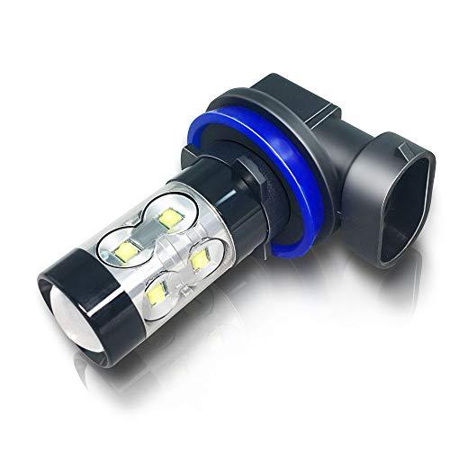 OPT7 FluxBeam Choice LED Headlight Kit w/Clear Arc-Beam Bulbs - H4 (9003) - 130w 10,000Lm 6K Cool White CREE