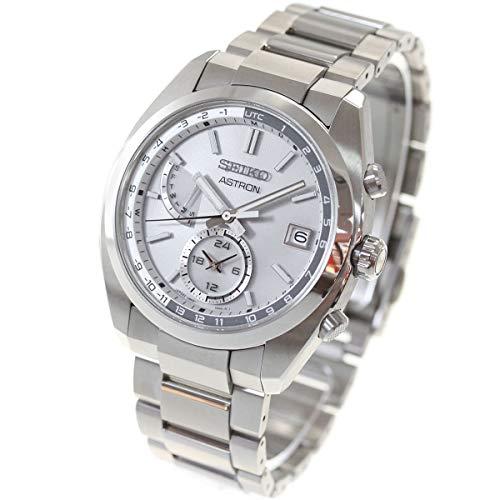 [セイコーウオッチ] 腕時計 アストロン ソーラー電波ライン SBXY009 メンズ シルバー