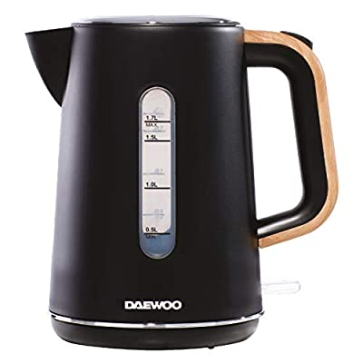 Daewoo SDA1736 Stockholm 1.7L Kettle Wood Effect Handle