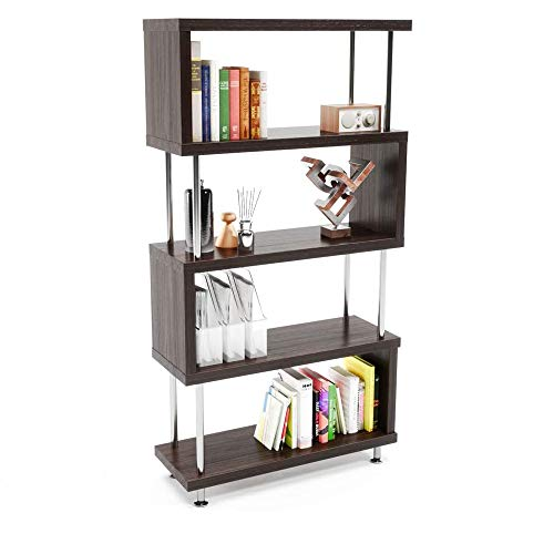 "HOMEFORT 4-Tier Wire Shelving 4 Shelves Unit Metal Storage Rack Durable Organizer Perfect for Pantry Closet Kitchen Laundry Organization in White,21""Wx14""Dx46.5""H"