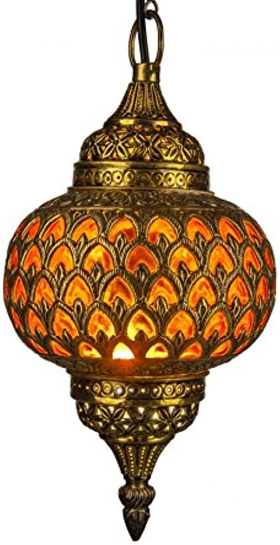 Orientalische Marokkanische Arabische Messing Deckenlampe Hngeleuchte Lampe Leuchte Adla - O 32cm