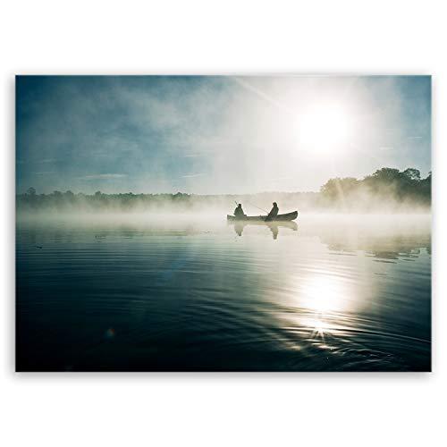 ge Bildet Bilderdepot24 hochwertiges Leinwandbild - Angeln in Ocala - Made in USA - 70 x 50 cm einteilig 3120
