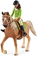 Horse Club Sarah & Mystery by Schleich Horse Club contains the fully articulated girl figure Sarah, her faithful horse, the Arabian mare mystery, as well as bridle, saddle and riding helmet. The Horse Club comes to life - great new girls figures and ...